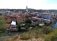 Třebíč, Vnitřní Město, z Hrádku.jpg