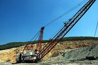 escavatori escavatrici  340px-TKI_Dragline
