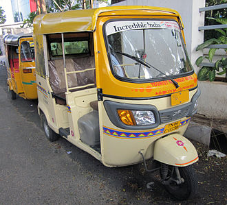 TVS Motor Company - TVS also competes in the 3 Wheeler segment