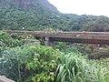 TW 台灣 Taiwan 新北市 New Taipei 瑞芳區 Ruifang District 洞頂路 Road 黃金瀑布 Golden Waterfall August 2019 SSG 10.jpg
