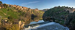 Tagus River Panorama - Toledo, Spain - Dec 2006.jpg