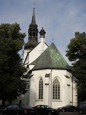Toompea - Toompea derives its name from St. Mary's Cathedral, the Dome Church