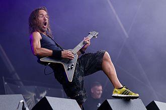 Tankard (band) - Guitarist Andreas Gutjahr at Rockharz 2016