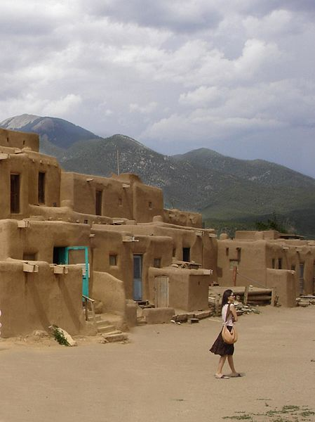 File:Taos Pueblo, New Mexico, USA (UNESCO World Heritage Site ) - panoramio - MARELBU (1).jpg