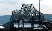 December 14: Tappan Zee Bridge opens Tappan Zee Bridge.JPG