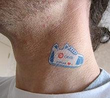 Tatuaje Temporal Wikipedia La Enciclopedia Libre