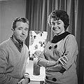 Teddy en Henk Scholten gaan naar Duitse TV, Bestanddeelnr 913-2779.jpg
