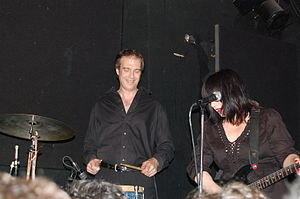 Teenage Jesus and the Jerks - Jim Sclavunos and Lydia Lunch performing with Teenage Jesus and the Jerks in 2008
