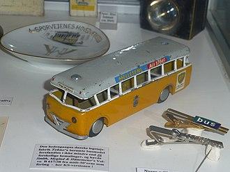 Tekno (toy manufacturer) - An older, simpler Tekno toy bus.