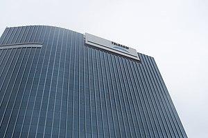 Telecom Argentina - Telecom building in Puerto Madero, Buenos Aires.