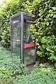 Telephone box on A32 at Warnford - geograph.org.uk - 239496.jpg