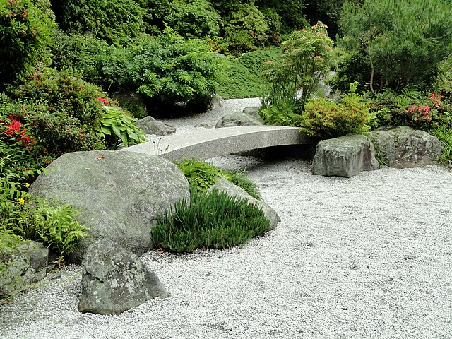 Tenshin-En Japanese Garden, Museum of Fine Arts, Boston