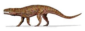 Teratosaurus - Life restoration