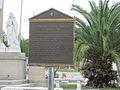 Terre-Aux-Boeufs Cemetery Mch 2012 Archdiocean Plaque.JPG