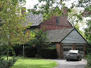 Collingswood, New Jersey - The Thackara House on Eldridge Avenue was built in 1754, making it one of the oldest houses in Collingswood