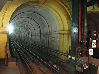 Isambard Kingdom Brunel - The Thames Tunnel in 2005.