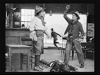 The Squaw Man (1914 film) - A scene from The Squaw Man