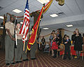 The Albany Young Marines present the colors at the Kids' Marine Corps Birthday Ball ceremony.jpg