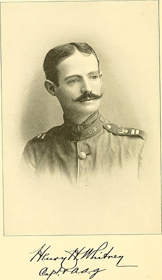 Henry Howard Whitney - Whitney as a captain at the time of the Spanish–American War.
