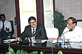 The Chairman, Standing Conference of Public Enterprises (SCOPE) and SAIL, Shri C. S. Verma briefing the media persons regarding issues concerning management of Central Government Public Sector Enterprises (CPSEs) and.jpg