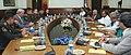 The Defence Minister, Shri A. K. Antony and the Defence Minister of Kyrgyz Republic, Major General Taalaibek Omuraliev, at the delegation level talks, in New Delhi on September 13, 2013.jpg