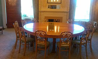 World Bank - The Gold Room at the Mount Washington Hotel where the International Monetary Fund and World Bank were established