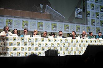 The Hobbit: The Battle of the Five Armies - The Battle of the Five Armies panel at 2014 SDCC