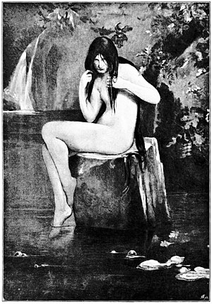 Kelpie - The Kelpie by Thomas Millie Dow, 1895