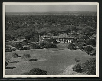 Lusaka - Government House, built for the Governor of Northern Rhodesia