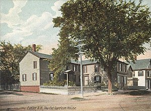 Exeter, New Hampshire - Gilman Garrison House in 1906