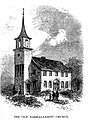 The Old Narragansett Church engraving 1885.jpg