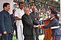 The President, Shri Pranab Mukherjee presented the awards, at the 159th Founder's Day celebrations of the Lawrence School, at the Nilgiris, in Tamil Nadu.jpg