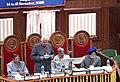 "The Speaker, Lok Sabha, Shri Somnath Chatterjee giving the inaugural address in the ""70th Conference of Presiding Officers of Legislative Bodies in India"" in the Chhattisgarh Assembly, Raipur on November 15, 2005.jpg"