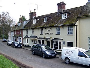 Blandford St Mary - Image: The Stour Inn, Blandford St Mary geograph.org.uk 1174227