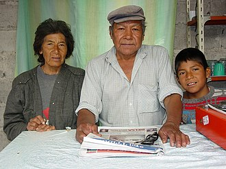 Indigenous peoples in Argentina - Proprietors of a roadside café in Salta Province