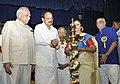 The Vice President, Shri M. Venkaiah Naidu lighting the lamp at an event to celebrate the birth anniversary of Subramania Bharatiyar, in Chennai.jpg