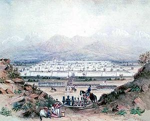First Anglo-Afghan War - British army entering Kandahar