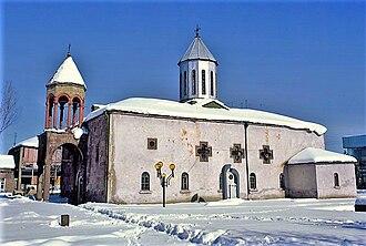 Armenians in Georgia - The Armenian church in Akhalkalaki