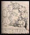The evolution of pieces of pork into a pig into a man seated Wellcome V0011247.jpg