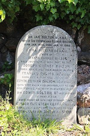 Bolton baronets - The grave of the Bolton baronets, Glasgow Necropolis