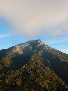 Il monte Scuderi