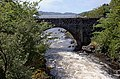 The old bridge from the new, Lochinver (geograph 2430430).jpg