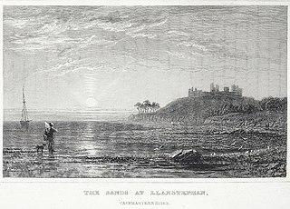 The sands at Llanstephan, Caermarthenshire