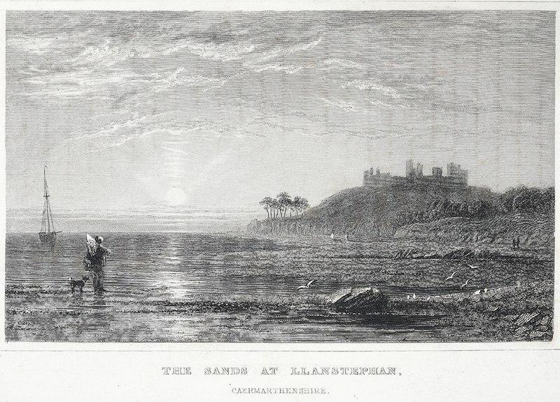 File:The sands at Llanstephan, Caermarthenshire.jpeg
