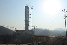 The statue of unity under construction (15).jpg