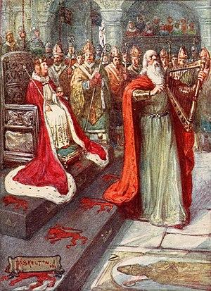 Alexander III of Scotland - Alexander Crowned as King of Scotland