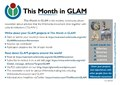 This Month in GLAM newsletter - This Month in Education newsletter flyer (2018).pdf
