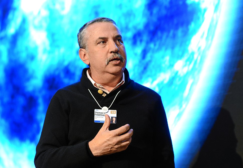 Thomas Friedman World Economic Forum 2013