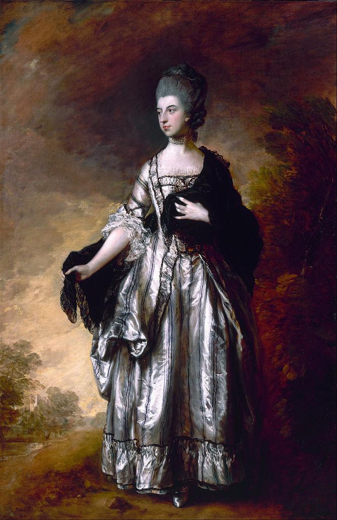 File:Thomas Gainsborough - Isabella,Viscountess Molyneux ...
