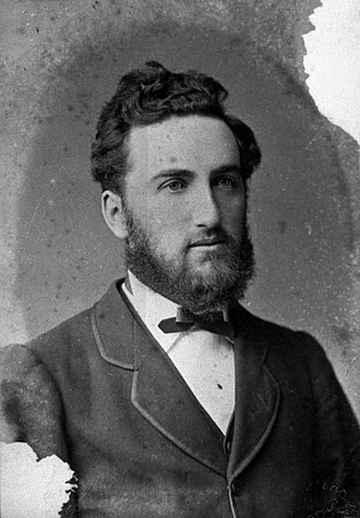 Thomas William Hislop - Portrait of Thomas Hislop in 1878